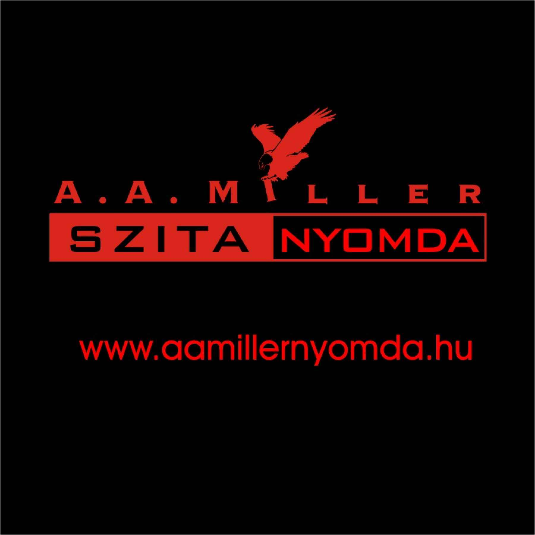 A.A. Miller Nyomda logója